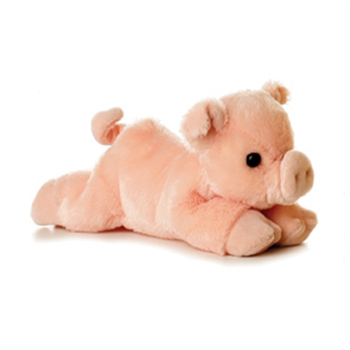 Percy the Plush Pink Pig by Aurora