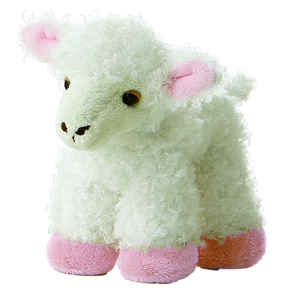Plush Lamb Mini Flopsie Aurora Stuffed Safari