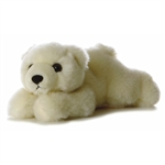 Lil Slushy the Stuffed Polar Bear Cub by Aurora
