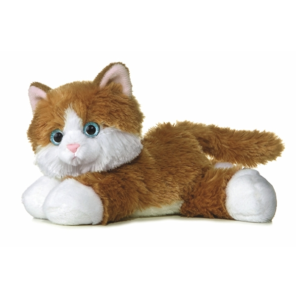 Sunshine The Stuffed Orange Tabby Cat Aurora Stuffed Safari