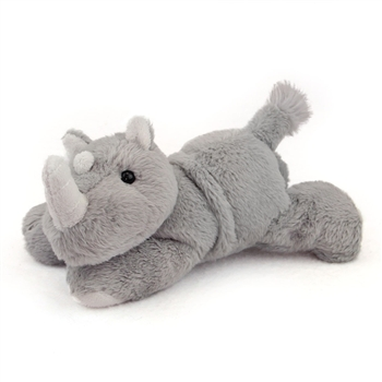Plush Rhinoceros Mini Flopsie by Aurora