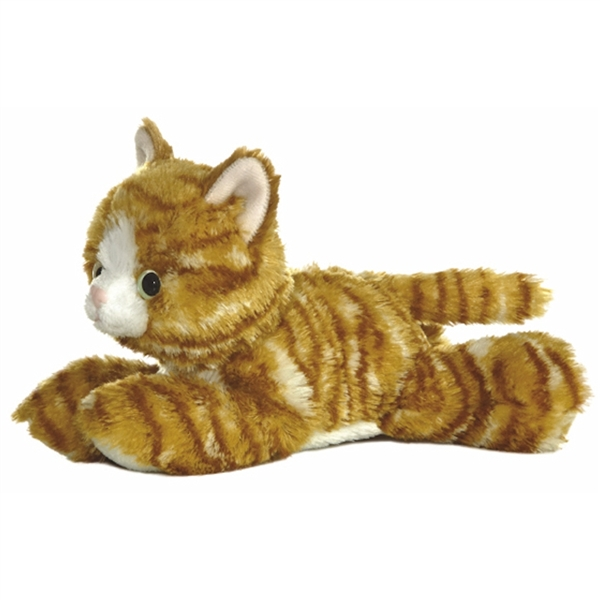 Molly The Stuffed Orange Tabby Cat Aurora Stuffed Safari
