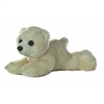 Little Arctic the Stuffed Polar Bear Mini Flopsie by Aurora