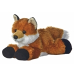 Foxxie the Little Stuffed Fox Mini Flopsie by Aurora