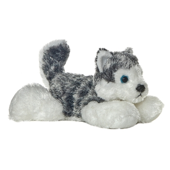 Little Mush the Stuffed Husky Mini Flopsie by Aurora