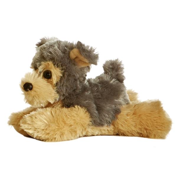 Cutie The Stuffed Yorkie Plush Mini Flopsie Dog Aurora Stuffed
