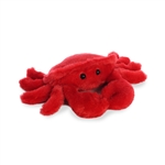 Little Cranky the Stuffed Crab Mini Flopsie by Aurora