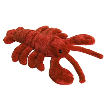 Lester the Stuffed Lobster Plush Mini Flopsie By Aurora