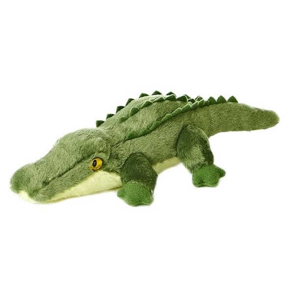 Yellow Crocodile Dog Toy