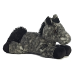 Little Storm the Stuffed Dapple Gray Horse Mini Flopsie by Aurora