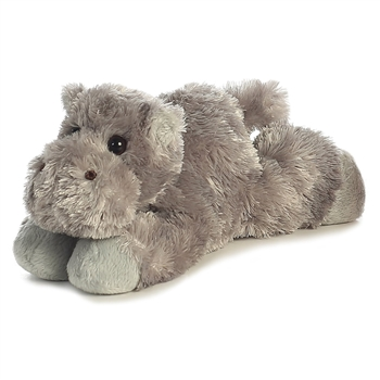 Little Howard the Stuffed Hippo Mini Flopsie by Aurora