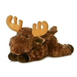 Plush Moose 12 Inch Stuffed Flopsie by Aurora