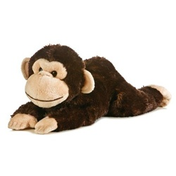 Plush Chimp 12 Inch Stuffed Flopsie By Aurora