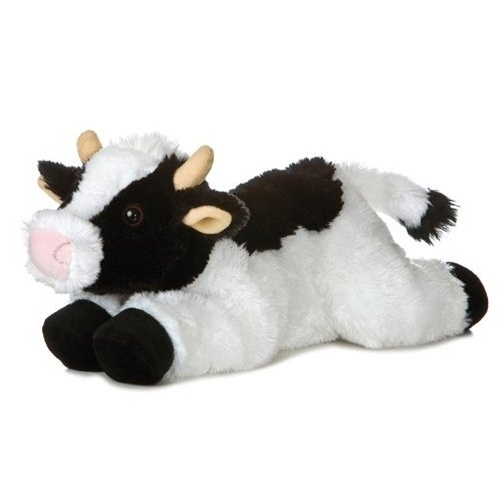 May Bell The Plush Holstein Cow 12 Inch Stuffed Flopsie By