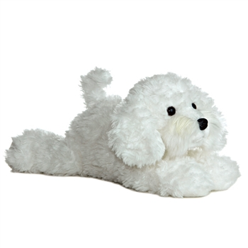 Bonita the Stuffed Bichon Frise by Aurora
