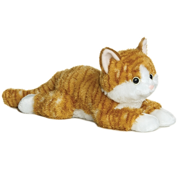 Chester The Stuffed Orange Tabby Cat By Aurora At Stuffed Safari