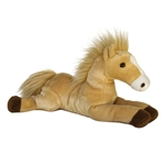 Butterscotch The Stuffed Palomino Flopsie Plush Horse By Aurora