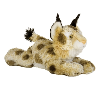 Bobby the Stuffed Bobcat Flopsie Plush Wild Cat by Aurora