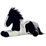 Star the Stuffed Pinto Flopsie Plush Horse By Aurora