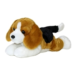 Buddy the Stuffed Beagle Flopsie Plush Dog by Aurora