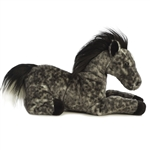 Jack the Stuffed Dapple Gray Horse Flopsie by Aurora
