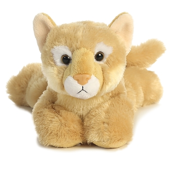Catamount the Stuffed Cougar Flopsie by Aurora