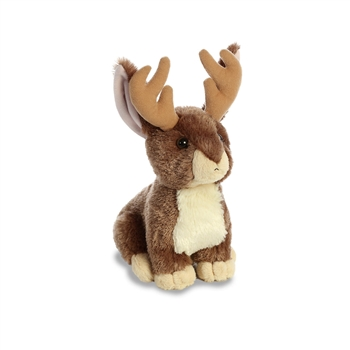 Steve the Stuffed Jackalope Flopsie by Aurora