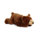 Timothy the Stuffed Grizzly Bear Flopsie by Aurora