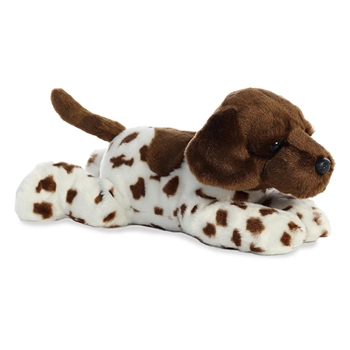 Gio the Stuffed German Shorthair Pointer Flopsie by Aurora
