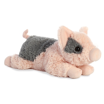 Tidbit the Stuffed Mini Pig Flopsie by Aurora