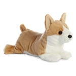 Corky the Stuffed Corgi Flopsie by Aurora