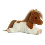 Sprite the Stuffed Spotted Shetland Pony Flopsie by Aurora