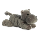 Howie the Stuffed Hippo Flopsie by Aurora
