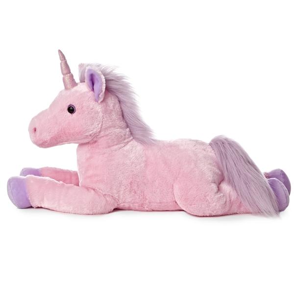 a3c69cf1e41 Jumbo Stuffed Pink Unicorn Super Flopsie