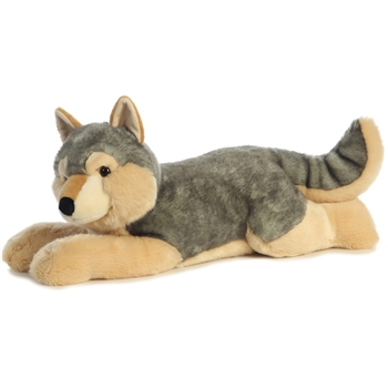 Jumbo Stuffed Wolf Super Flopsie by Aurora