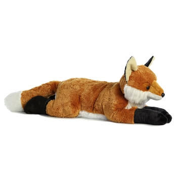 Big Foxxie the Jumbo Stuffed Fox Super Flopsie by Aurora