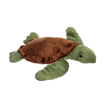 Jumbo Stuffed Sea Turtle Super Flopsie by Aurora
