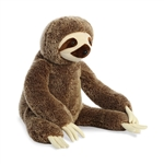 Jumbo Stuffed Sloth Super Flopsie by Aurora