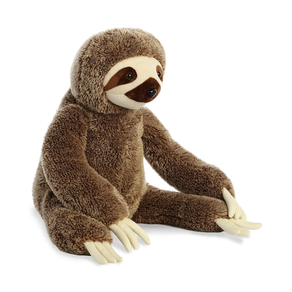 Jumbo Stuffed Sloth Super Flopsie Aurora Stuffed Safari