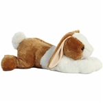 Jumbo Stuffed Two Tone Bunny Super Flopsie by Aurora