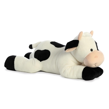 Mooty the Jumbo Stuffed Spotted Cow by Aurora