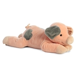 Oink the Jumbo Stuffed Spotted Pig by Aurora