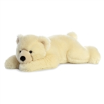 Big Slushy the Jumbo Stuffed Polar Bear Super Flopsie by Aurora