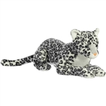 Jumbo Stuffed Snow Leopard Super Flopsie by Aurora