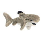 Little Reef the Stuffed Blacktip Shark Mini Flopsie by Aurora