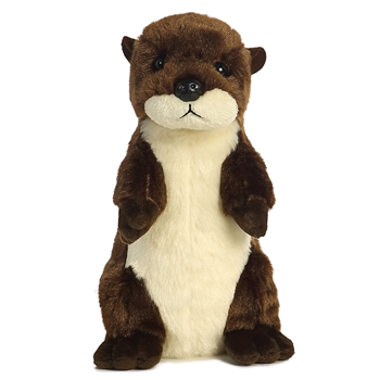 Little Bend the Stuffed River Otter Mini Flopsie by Aurora