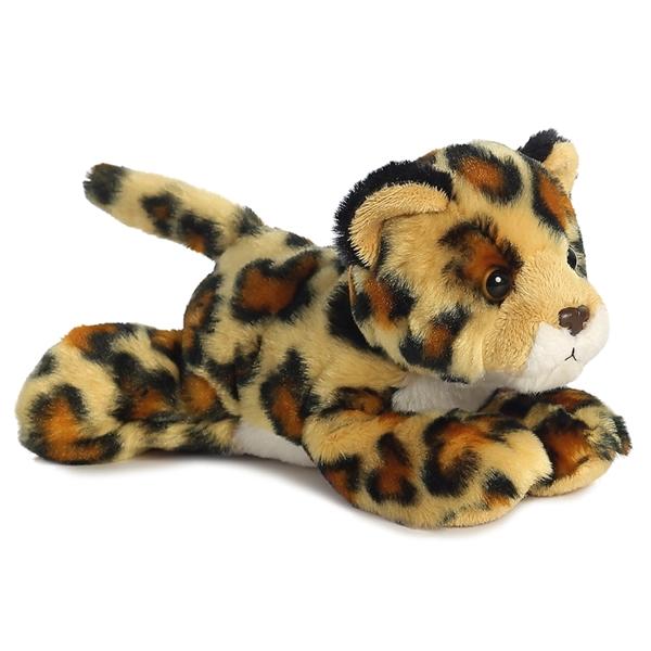 Little Stuffed Jaguar Mini Flopsie Aurora Stuffed Safari