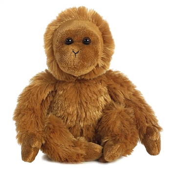 Little Jupiter the Stuffed Orangutan Mini Flopsie by Aurora