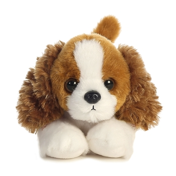 Chaz the Stuffed Cavalier King Charles Spaniel Mini Flopsie by Aurora