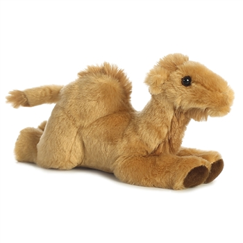 Little Mike the Stuffed Camel Mini Flopsie by Aurora